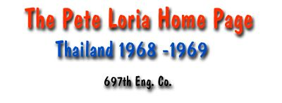 The Pete Loria Home Page